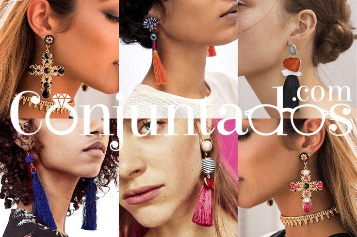 ★ www.conjuntados.com ★ Tu Tienda Online de Accesorios y Complementos de Moda. Your new accessories online-shop! Dein Onlineshop von Schmuck und modische Accessoires ist da! :)