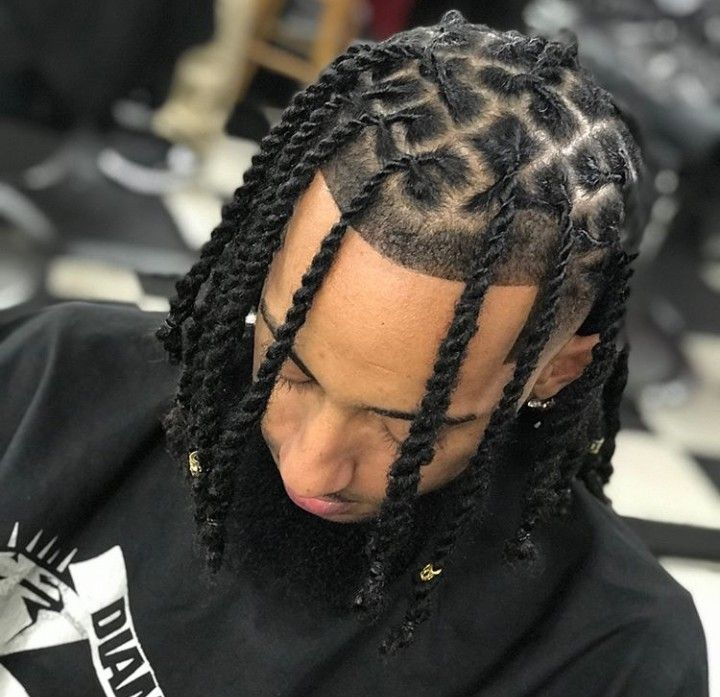 Pin By Bro Cooley Shabazz On Locs Natural Styles Mens Braids Hairstyles Dread Hairstyles Dreadlock Hairstyles Black