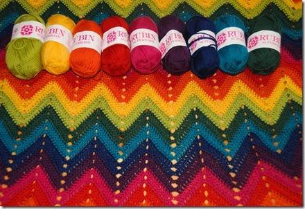 #crocheting #crochet #zigzag #blanket #heklet #hekle #hekling #sikksakk #sikksakkteppe