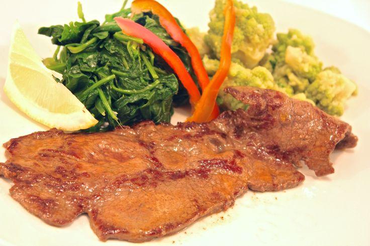 """"""" Menù Porteño """" € 12,00.- ( Fettina di carne Argentina alla piastra con verdura del giorno + 1/2 L. Acqua Minerale )"""