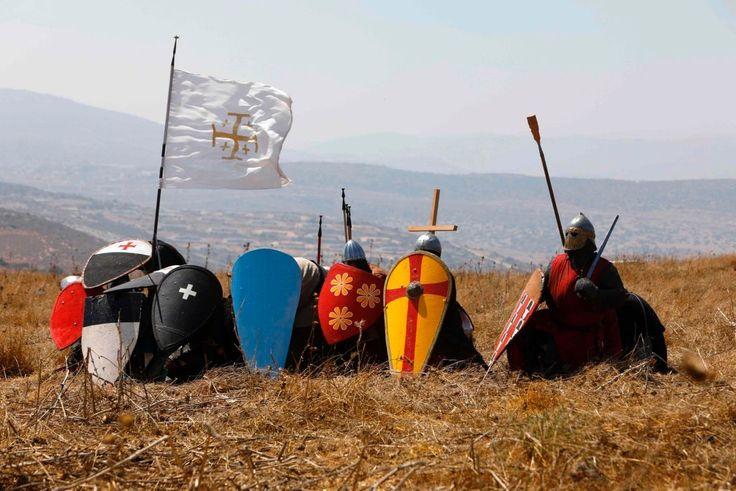 Battle of Hattin reenactment