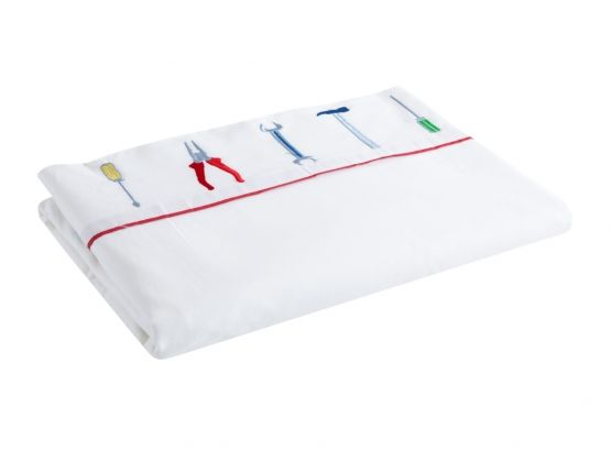 Kids Tool Multi Sheet Set from KAS, available at Forty Winks.