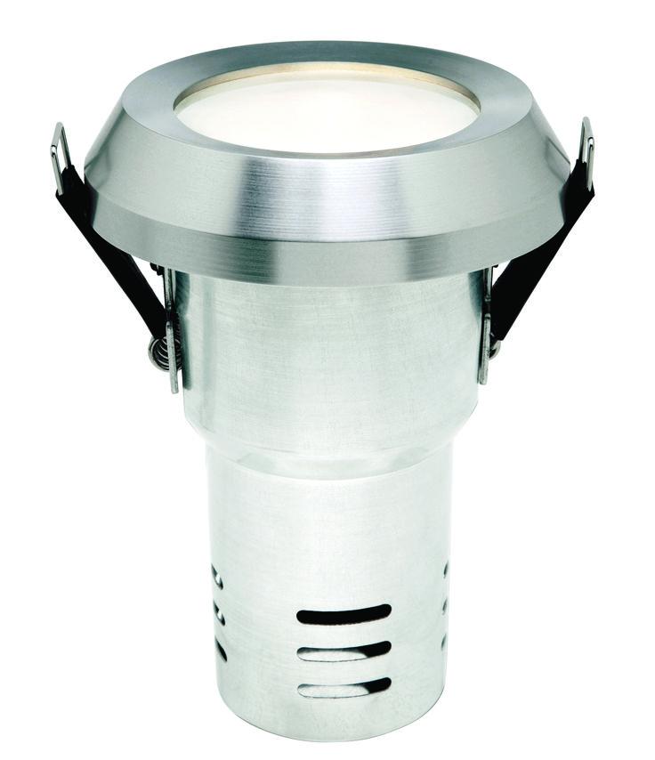 Versaspot IP65 Low Voltage Downlight (Including Globe and Transformer) in Aluminium