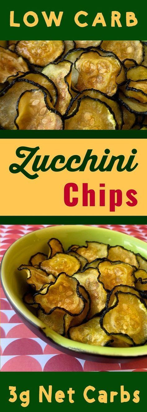 This recipe for Crispy Low Carb Zucchini Chips is Keto, Atkins, THM, Paleo, Sugar Free and Gluten Free. It's a bit tricky making a crispy zucchini chip, but with a little elbow grease, it's definitely doable.