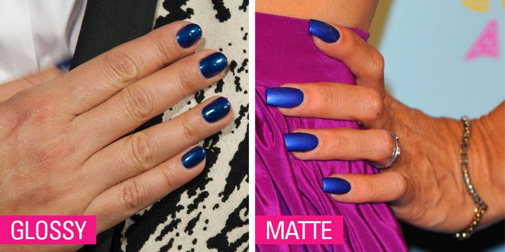 This Spring's Hottest Nail Colors in Glossy and Matte!