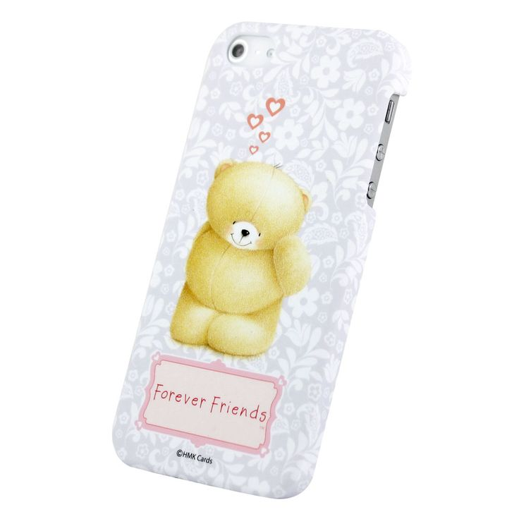 Forever Friends Shy Bear iPhone 5/5S Hard Back Case