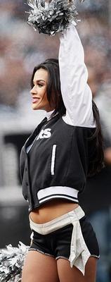 30. Natalie, Oakland Raiders