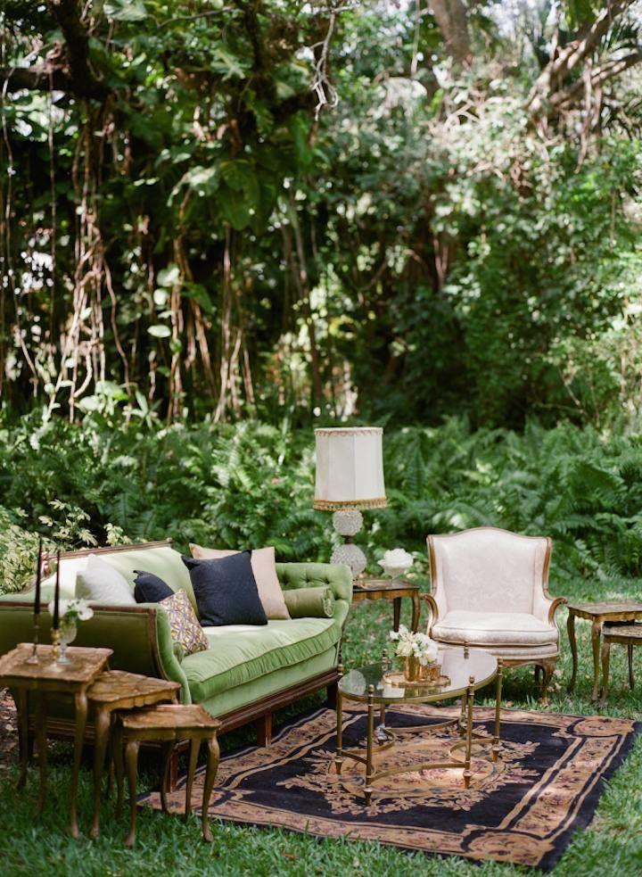 Miami Wedding: Ethereal Dream at Villa Woodbine - MODwedding