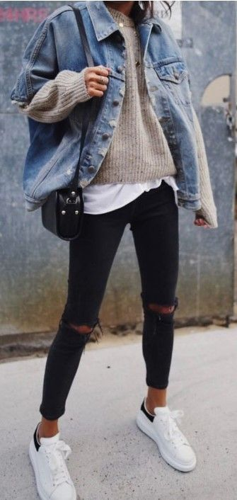 50+ Cute Women's Casual Winter Outfits 2019, #casual #women #outfits #winter   – Jacke für Frauen