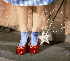 Now I am sure we all know which iconic movie these shoes were featured in? Such a part of childhood!