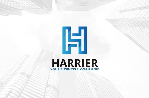 Harrier Logo by atsar on Creative Market