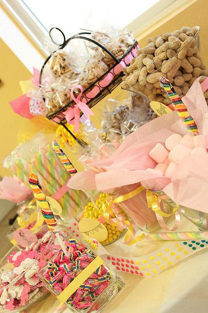 Cute food & decor & activity ideas for girls 1st vintage circus theme