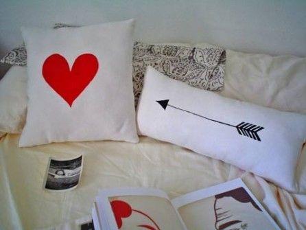 Detalles Geniales para San Valentín - Almohadones con Mensajes de Amor