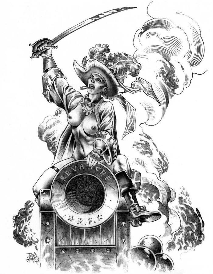 Графика: истории из жизни девушек - пираток (21)