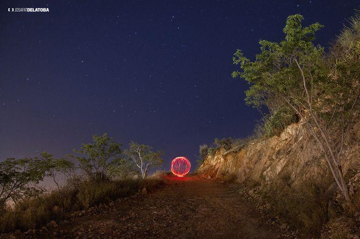 Cerro de la Z light painting #josafatdelatoba #cabophotographer #loscabos #lightpainting #longexpositure