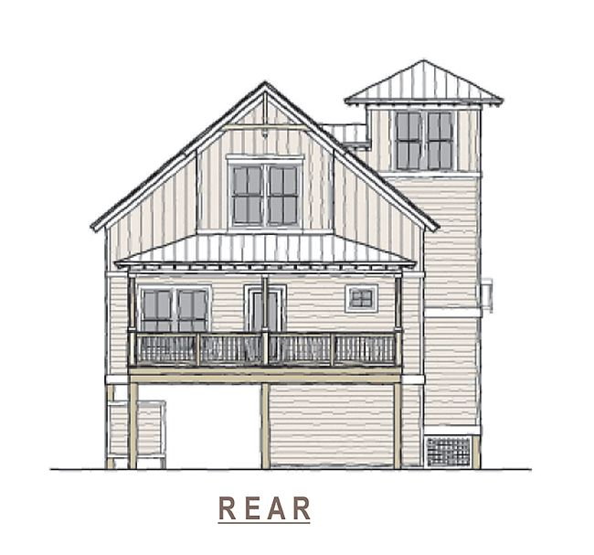 Lighthouse Cottage Coastal House Plans From Coastal Home Plans Beach Cottage House Plans Beach House Floor Plans Coastal House Plans