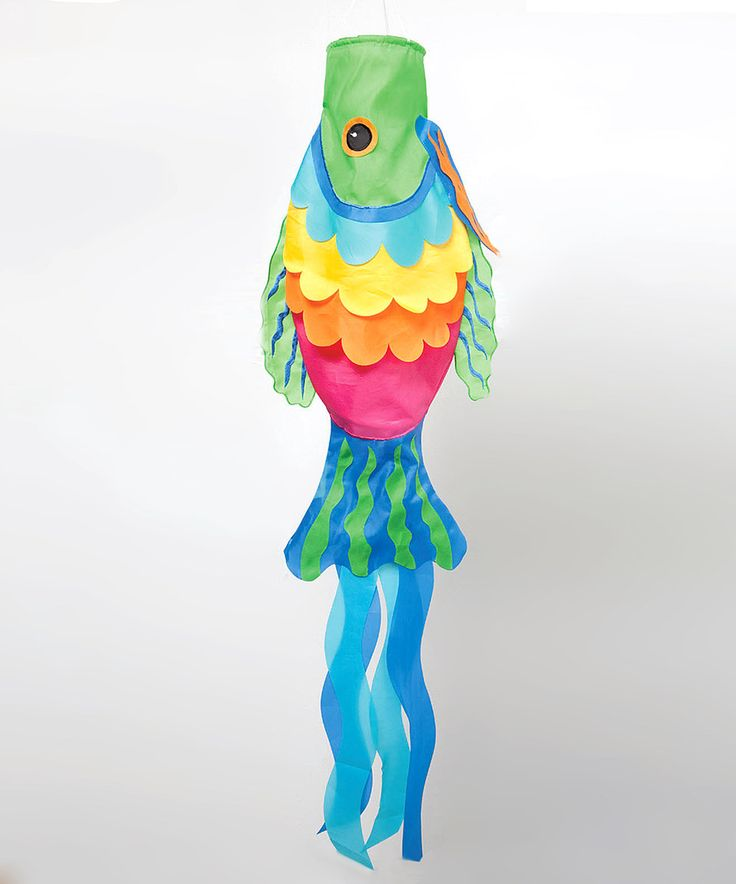 Fish Windsock by Evergreen #zulily #zulilyfinds