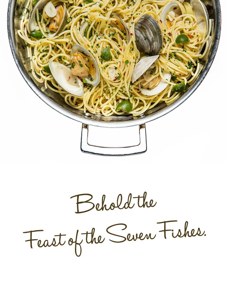103 best 39 tis the season for pasta images on pinterest for Feast of the seven fishes giada