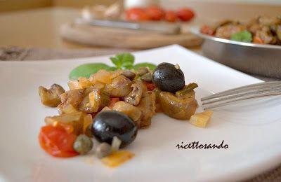 Caponata siciliana. #ricetta di @luisellablog
