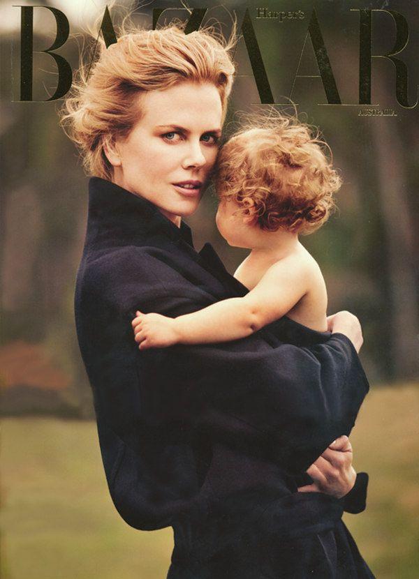 : Nicole Kidman, Bazaars Australia, Mothers Daughters, Nicolekidman, Harpers Bazaars, Families Photo, Will Davidson, Magazines Covers, Harpersbazaar