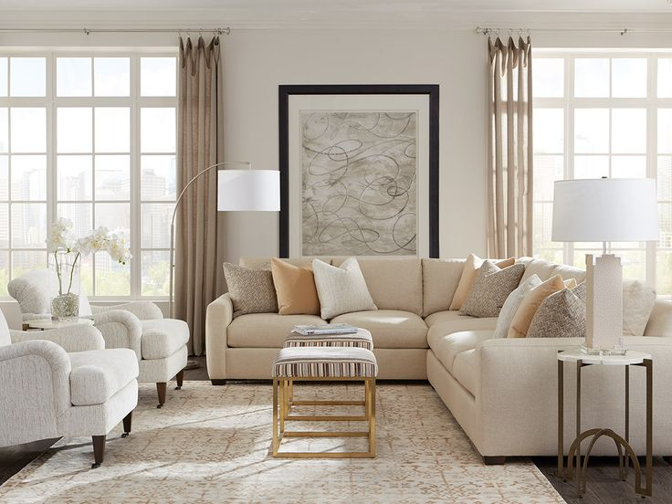 #sectional Setting By Rowe #furniture #livingroom #baconsfurniture  #interiordesign #homegoods #