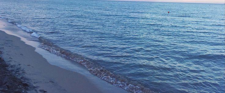 Italy, Puglia, Laghi Alimini. A wonderful crystalline sea