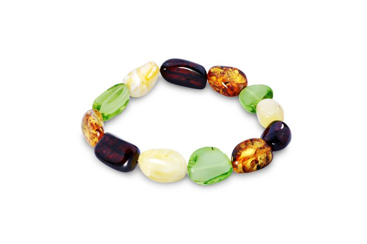 House of Amber - Pure mixed amber bracelet.