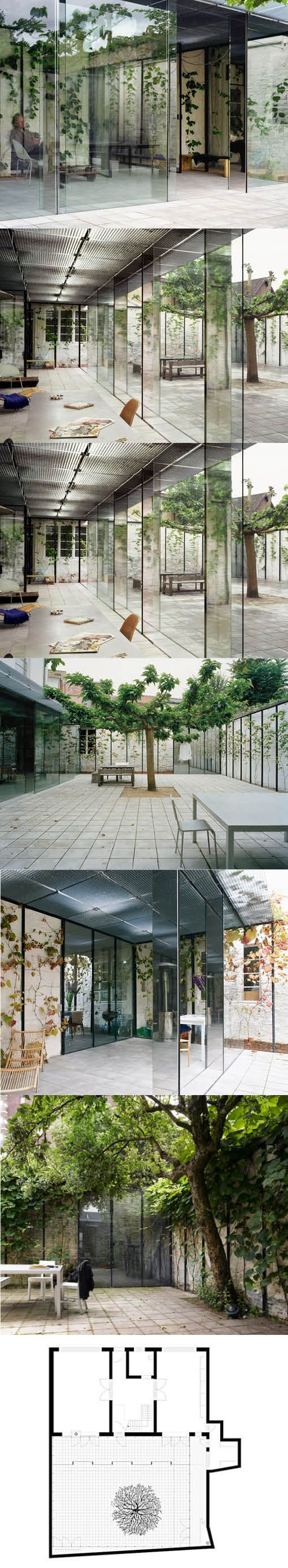 2007 Kersten Geers David van Severen - Summerhouse extension / Ghent Belgium / Office KGDVS / minimalism / glass