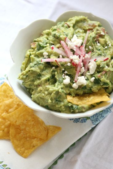 Loaded Roasted Chile Guacamole - Perry's Plate