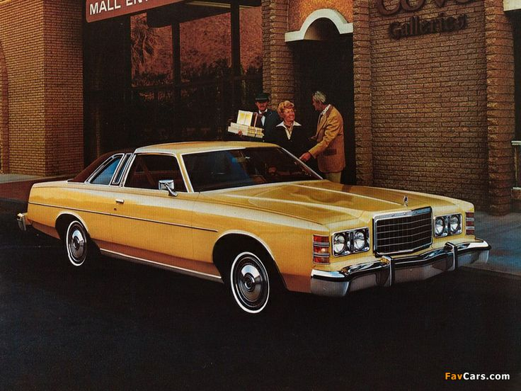 1978 Ford LTD sales literature, featuring the two door coupe.