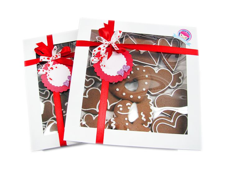 valentine's day gingerbread gifts box