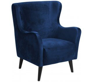 Przedsprzedaż - Fotel Canning ciemnoniebieski - 0000071844 - Actona Direct - SfMeble.pl
