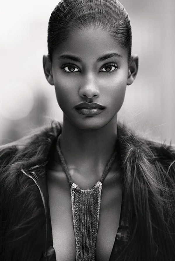 Black Woman!!  Natural beauty...