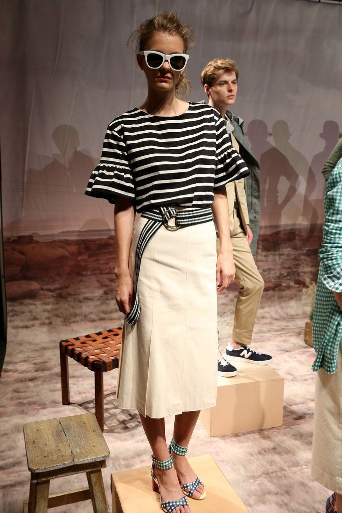 J.Crew Will Fulfill Your Wildest Preppy Dreams For Spring 2016: It's been a tumultuous year for J.Crew; the brand's profits have declined, there was a womenswear designer shuffle, and one cardigan in particular was blamed for a good chunk of its problems.