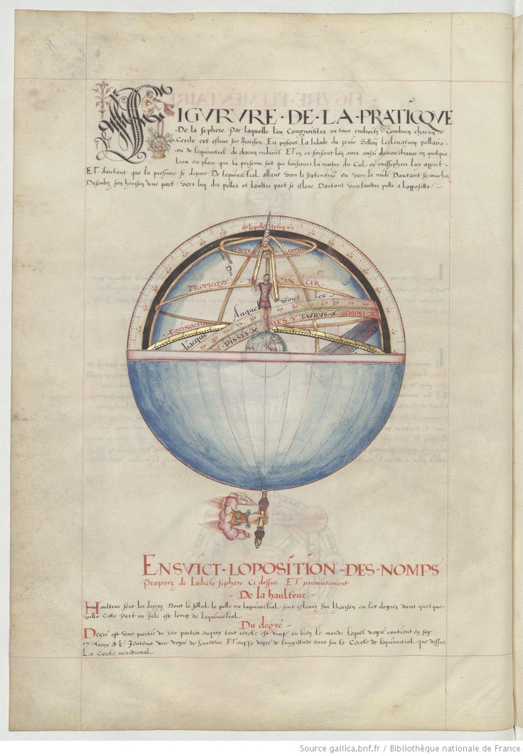 Beautiful book about Naval navigation. Has many color images of navigational equipment and compass roses.  « Les premieres Euvres de JACQUES DEVAULX, pillote en la marine »