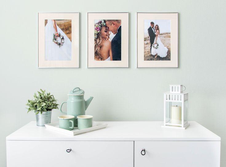 So Schn Kannst Du Poster Mit Deinen Hochzeitsfotos Als Geniale Fotowand Inszenierendiy