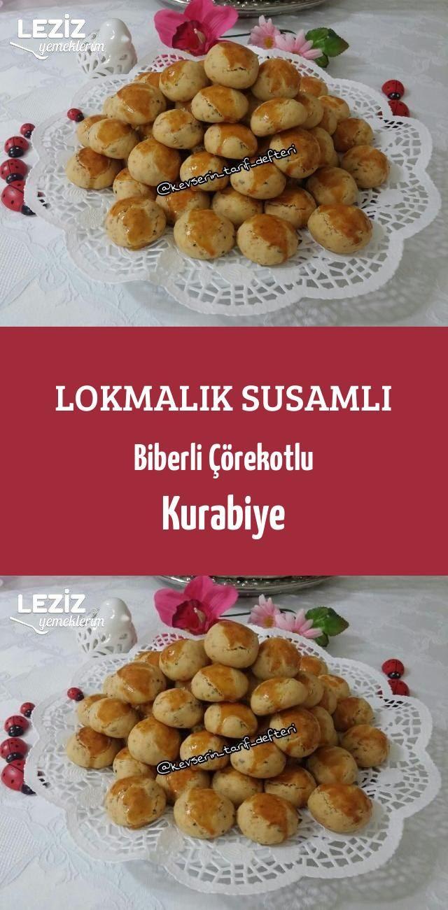 Biberli Kurabiye Tarifi