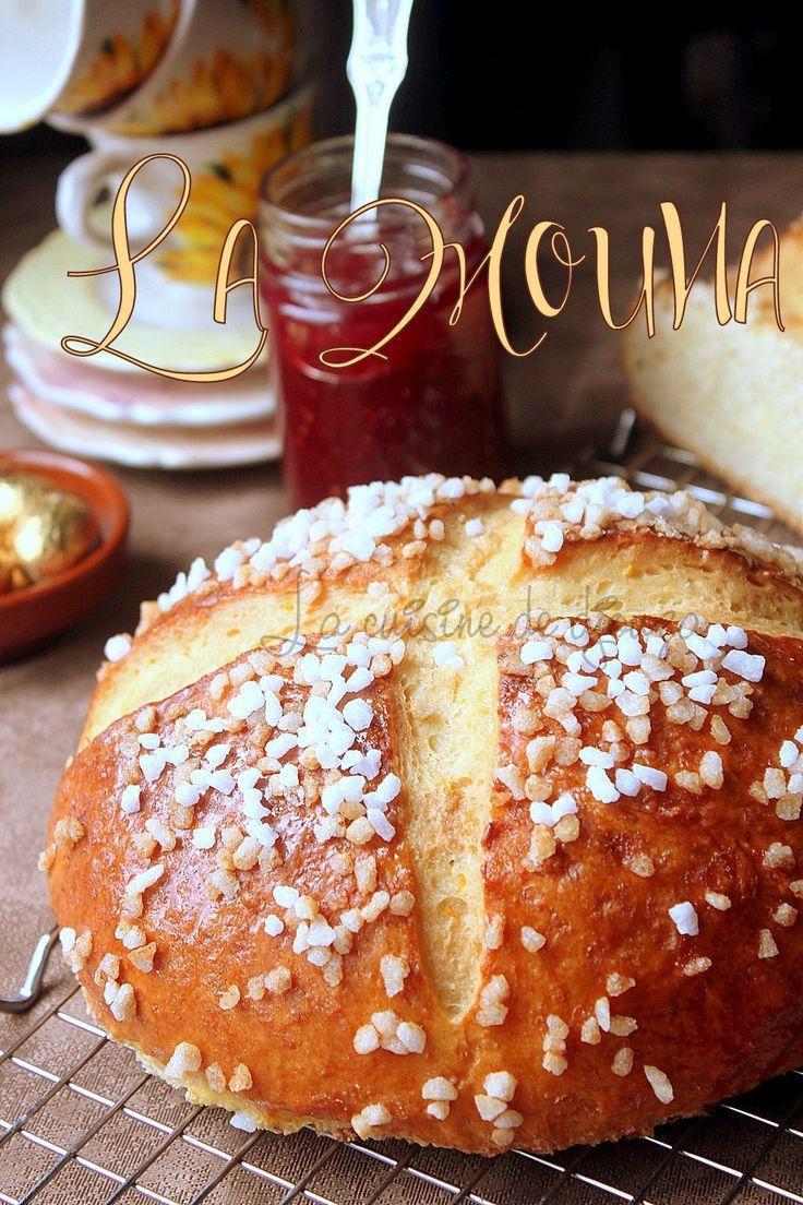 Recette traditionnelle de la Mouna ou mona espagnole, une brioche ou gâteau que l'on retrouve en Afrique du Nord et préparée par les pieds noirs
