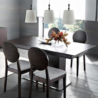 18 best images about table salle a manger on pinterest latinas taupe and sole. Black Bedroom Furniture Sets. Home Design Ideas