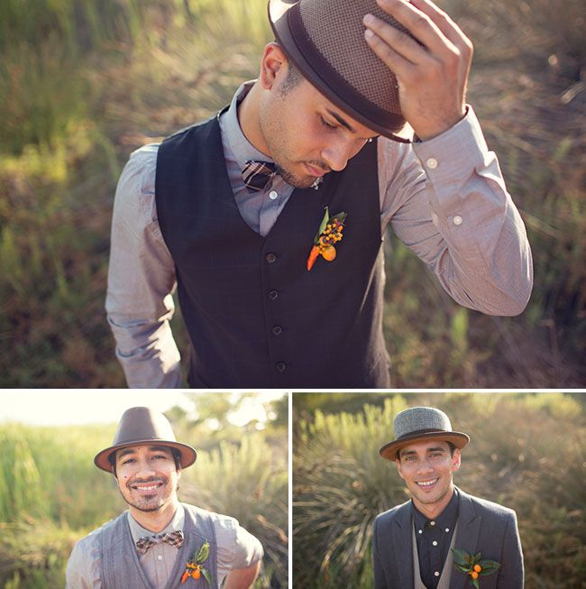 I LOVE this look for the men. Especially my groom. He would look so good in this. :)