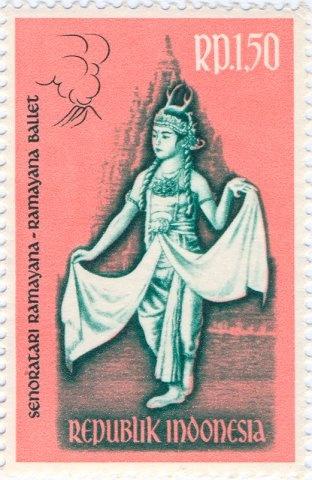 Indonesia - Ramayana dancer as Kidang Kentjana.