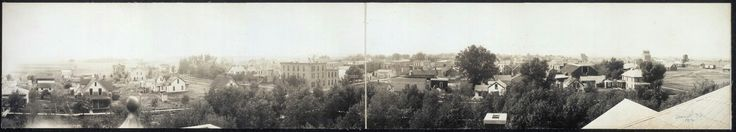 Photo of De Smet taken from an elevated point in 1912.