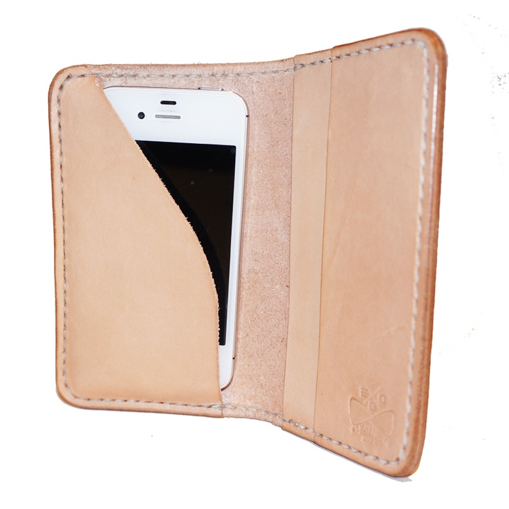 Leather iPhone Case #themakery