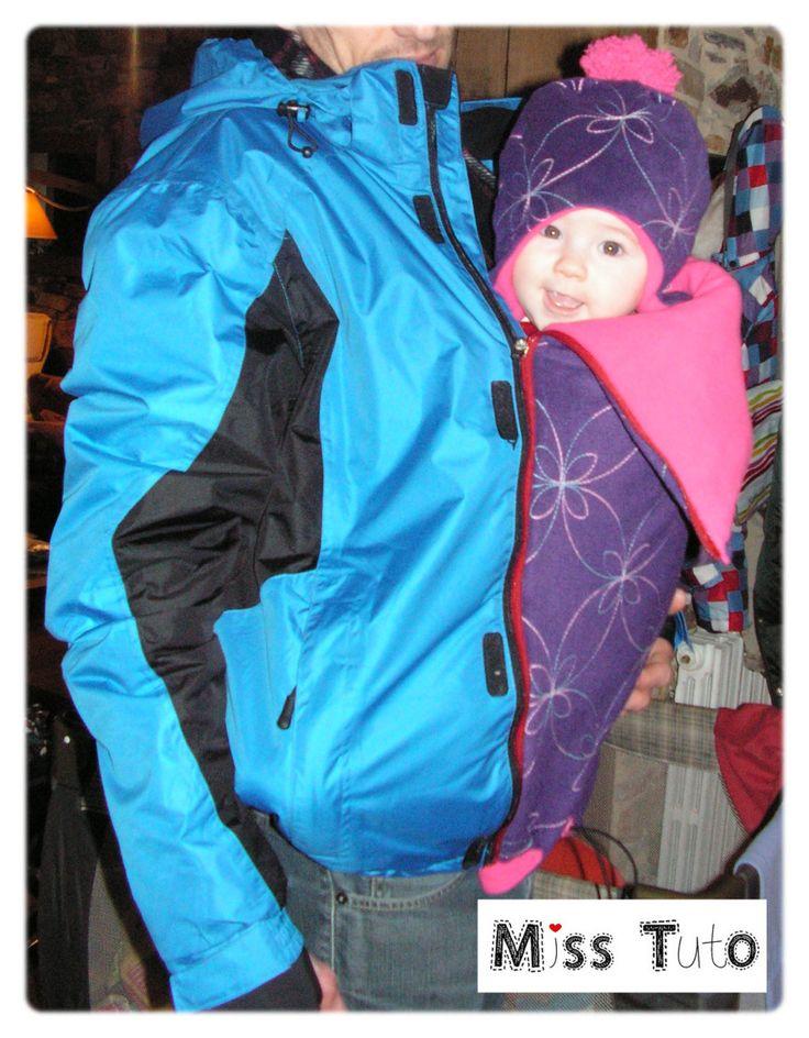 Cadeaux naissance/bébé 0-36 mois | Miss Tuto couture porte bébé très sympa