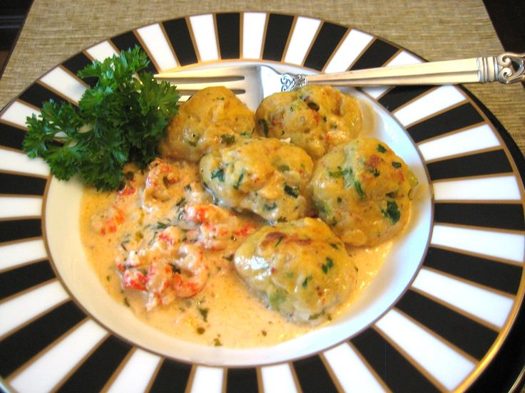 Buttoni's Crawfish Dumpling Stew with Cajun Seafood Spice Blend _ WOW! I found a fantastic way to shake up my glucomannan dumplings! This is 5-star restaurant tasty as far as I'm concerned. Not many recipes strike me that way, either!