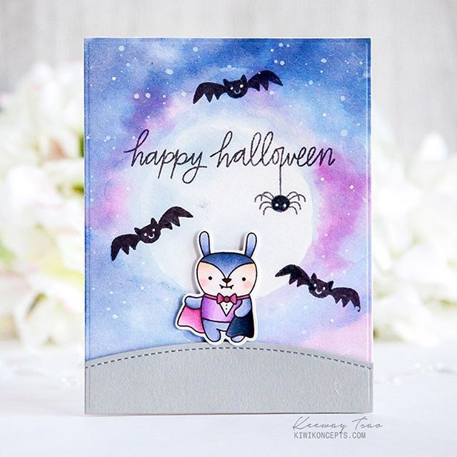 Day 2 of the blog hop has officially started! How amazing are the background and colors that @kiwi.koncepts achieved on this card?! 😱 . Join us on the PPP blog for lots of inspiration, fun and prizes! Link in profile! 💜💙#prettypinkposh #sequins