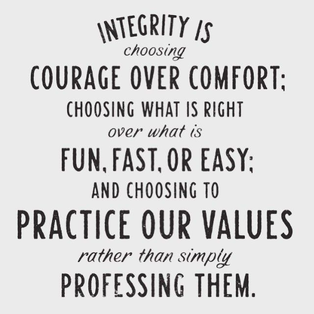 I teach my children integrity on a daily basis, as I have since the day they were born. I can not control what you choose to hear and see, but I have established much love and grace in my children. I have taught them to never judge others and I am very proud of that. I am sorry you feel differently.