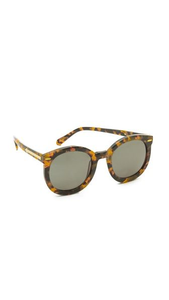 Karen Walker Super Duper Strength Sunglasses $312 - I miss mine so much! I lost them last year during STUVAC.