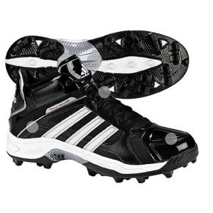 SALE - Adidas Destroy Football Cleats Mens Black Synthetic - Was $94.99 - SAVE $48.00. BUY Now - ONLY $46.97