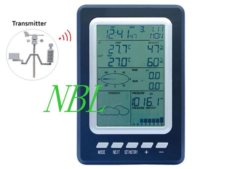==> [Free Shipping] Buy Best Professional Wireless Weather Station Temperature Humidity Rain Pressure Wind Speed Direction Weather Center Weather Forecast Online with LOWEST Price | 32397298279